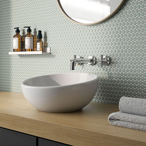 Penny Round tile collection