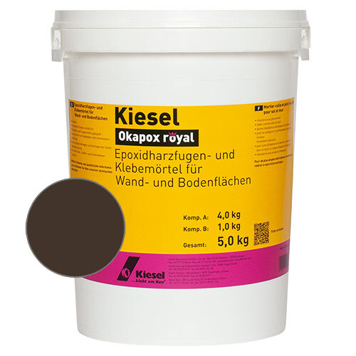Okapox royal adhesive grout<br>kaffee