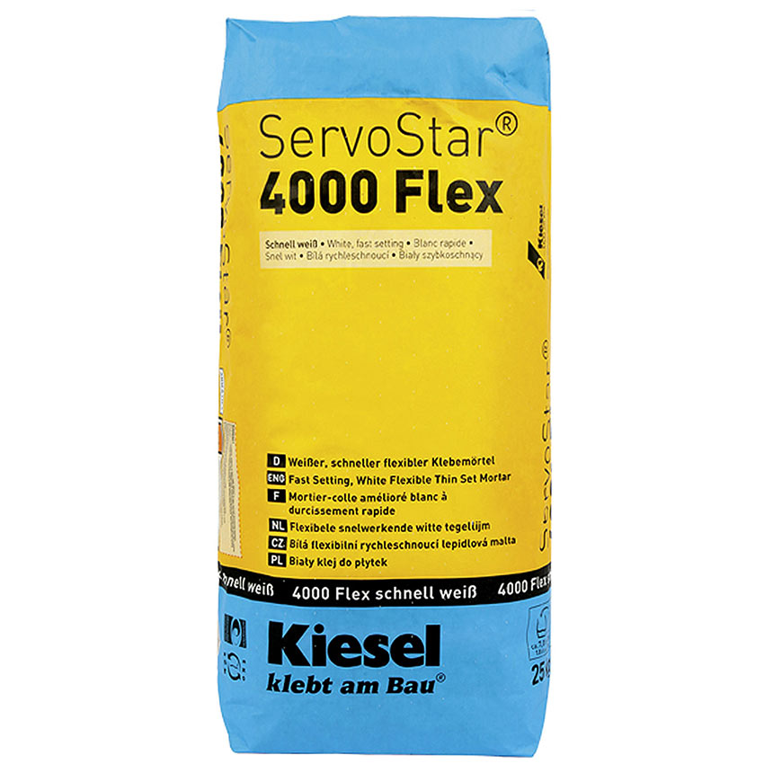 ServoStar® 4000 Flex quick set 25 KG