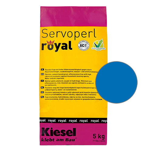 Servoperl royal grout - blue 5kg