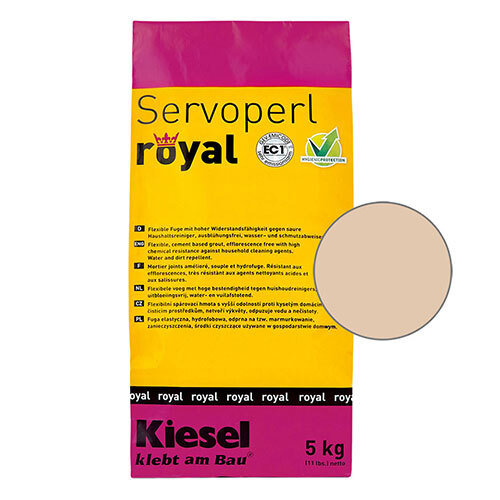 Servoperl royal grout - bone 5kg