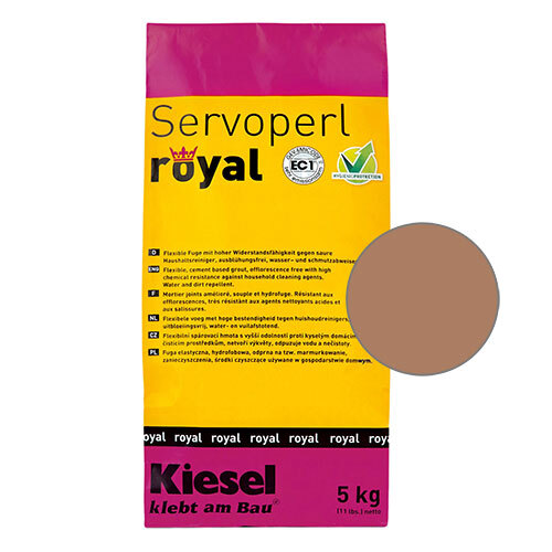 Servoperl royal hellbrown 5kg