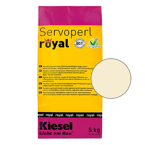 Servoperl royal grout - jasmin 5kg
