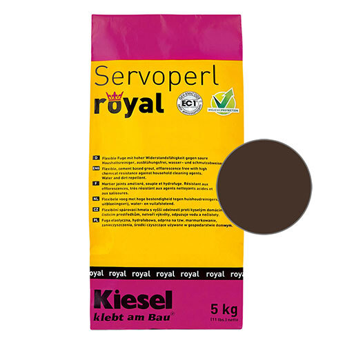 Servoperl royal grout - kaffee 5kg