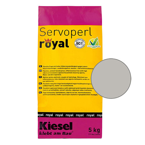 Servoperl royal grout - manhattan 5kg