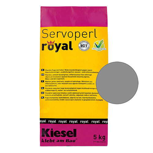 Servoperl royal grout - middle grey 5kg