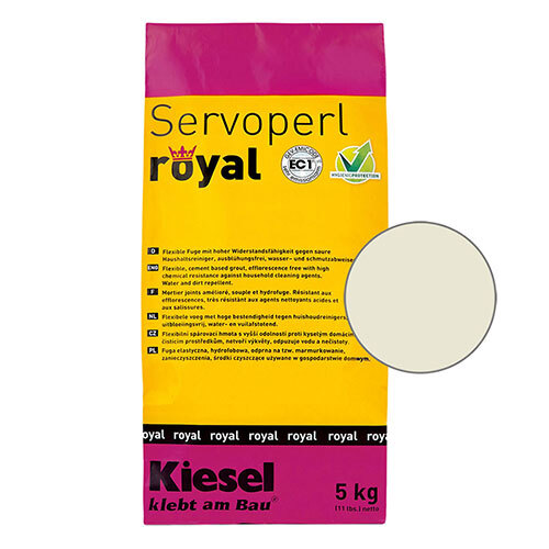 Servoperl royal grout - pergamon 5kg