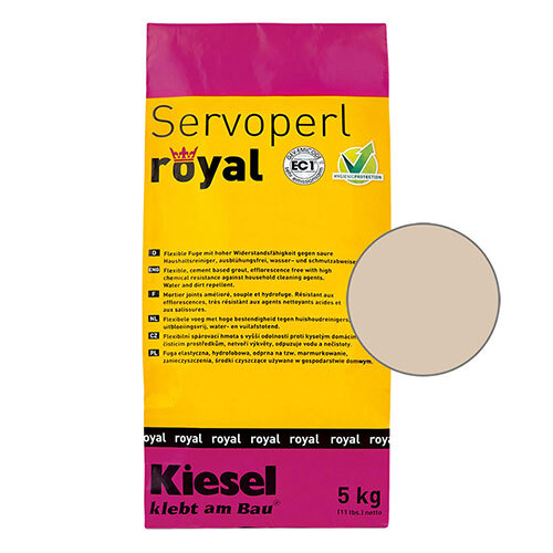 Servoperl royal grout - safari sand 5kg