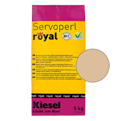 Servoperl royal grout - sahara 5kg