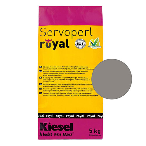 Servoperl royal grout - shadow 5kg