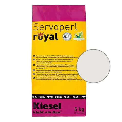 Servoperl royal grout - snow 5kg