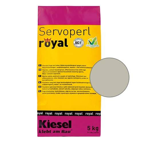 Servoperl royal grout - universal grey 5kg