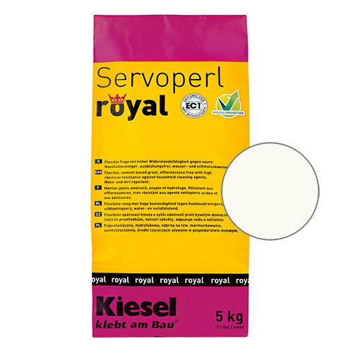 Servoperl royal grout - white 5kg