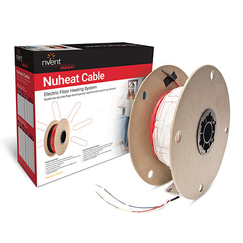 NUHEAT CABLE KIT 120 V 25 SF