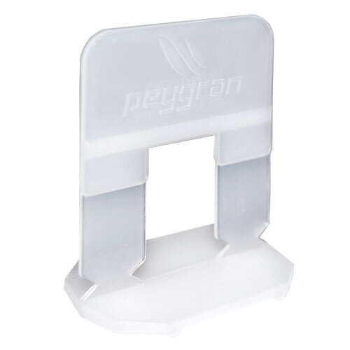 Peygran Tile Levelling System Clips<br>1mm - 500 Pack
