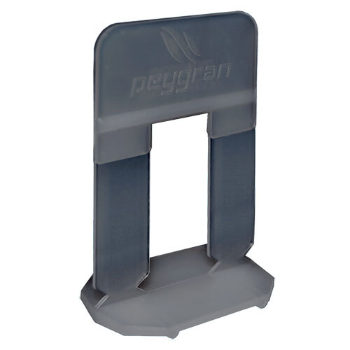 Peygran Tile Levelling System<br>High Clips 1mm - 80 Pack