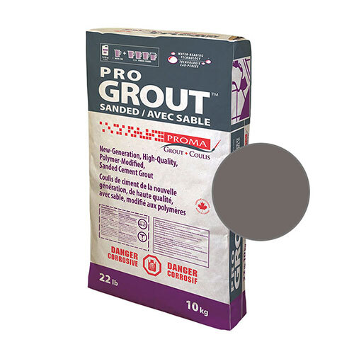 PRO GROUT SANDED CHARCOAL 10kg