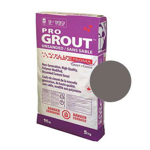 PRO GROUT UNSANDED CHARCOAL 5kg