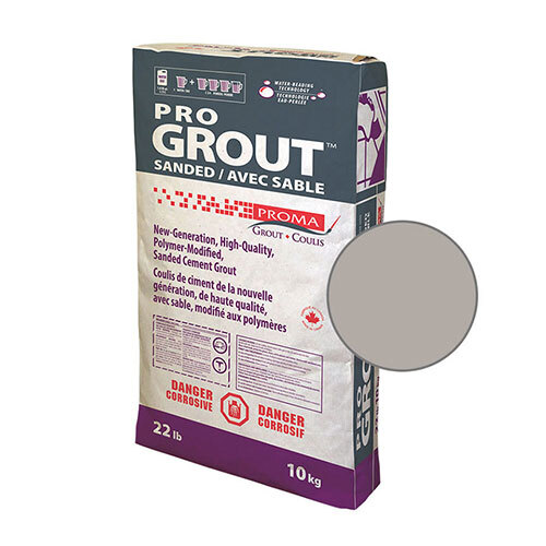 PRO GROUT SANDED PEARL GREY 10kg