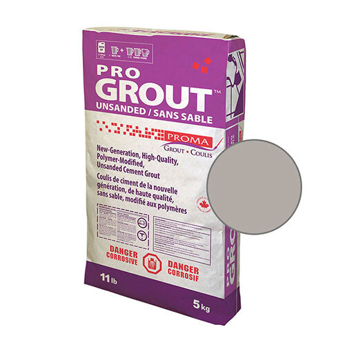 PRO GROUT UNSANDED PEARL GREY 5kg