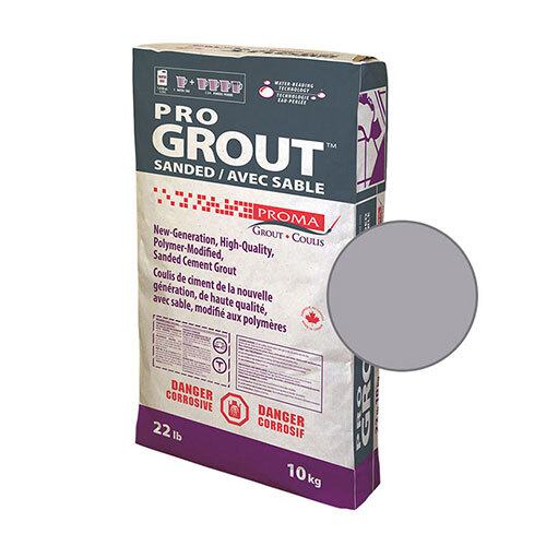 PRO GROUT SANDED SILVER 10kg