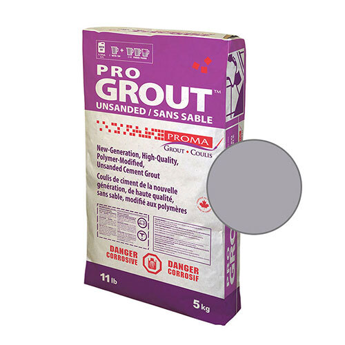 PRO GROUT UNSANDED SILVER 5kg