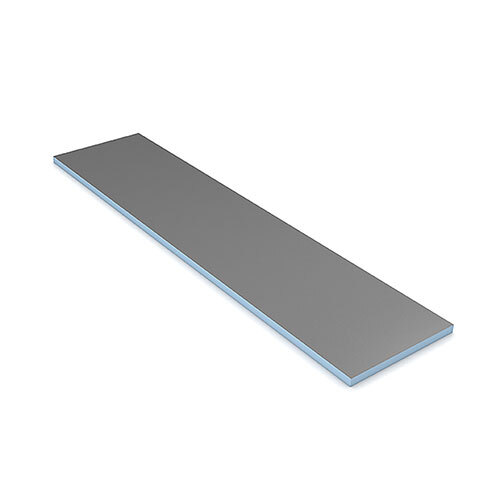 "wedi Building Panel 2' x 8' x 1 1/2"" (600 x 2500 x 40 mm)"
