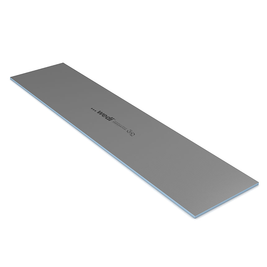 "wedi Building Panel 2' x 8' x 3/4"" (600 x 2500 x 20 mm)"