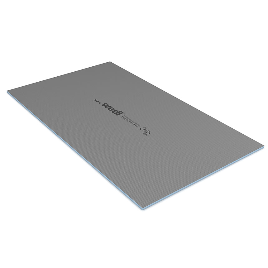 "wedi Building Panel 3' x 5' x 1/2"" (914 x 1524 x 12.7 mm)"