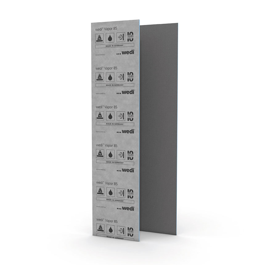 wedi Vapor 85 Building Panel 3'x8'x1/2""