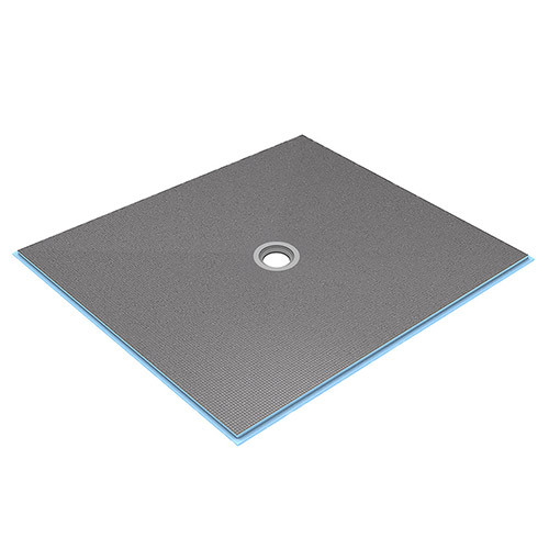 wedi Fundo Ligno Curbless Shower Base 5' x 5' with Centre Drain