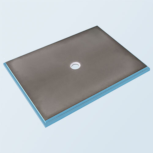wedi Fundo Primo Shower Base 3' x 5' with Centre Drain
