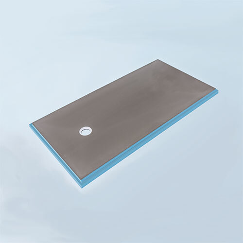 wedi Fundo Primo Shower Base 3' x 6' with Offset Drain