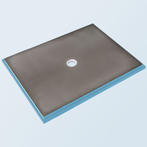 wedi Fundo Primo Shower Base 4' x 5' with Centre Drain