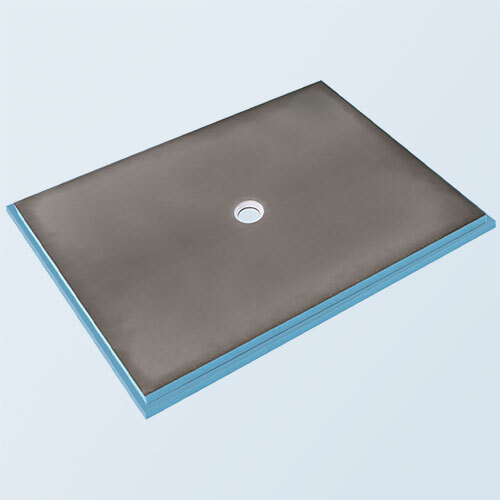 wedi Fundo Primo Shower Base 5' x 7' with Centre Drain
