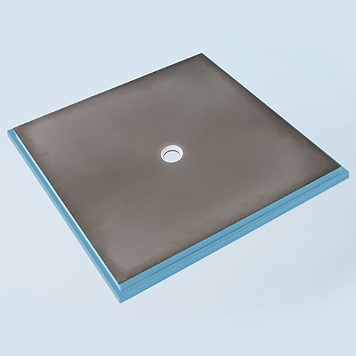 Wedi fundo primo shower base 6' x 6' with centre drain