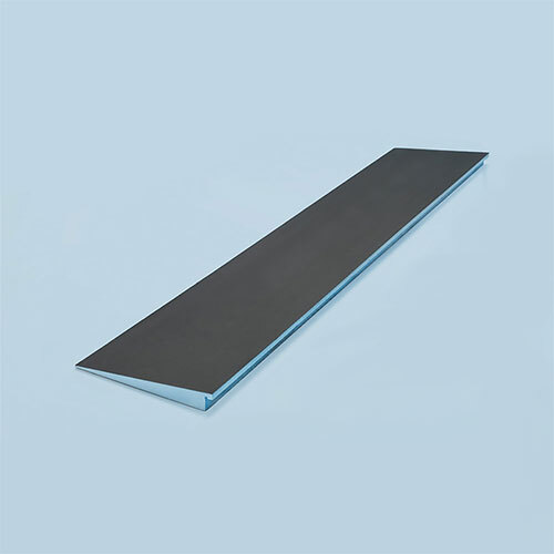 "wedi Shower Ramp 12"" x 5', sloped 1 1/2"" to 1/4"""