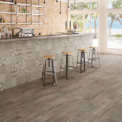 Outdoor Tile - Cabane and Seamless Decor