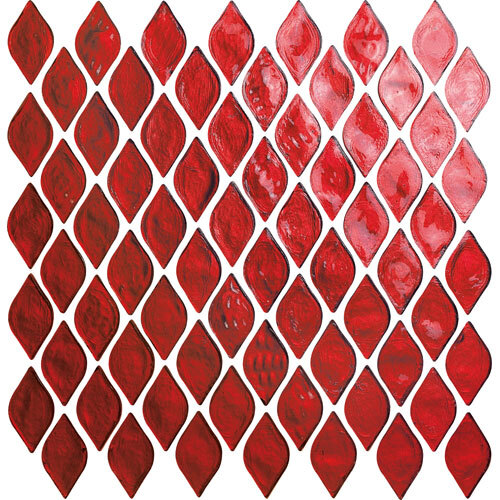 Teardrop Glass Mosaic Tile Series