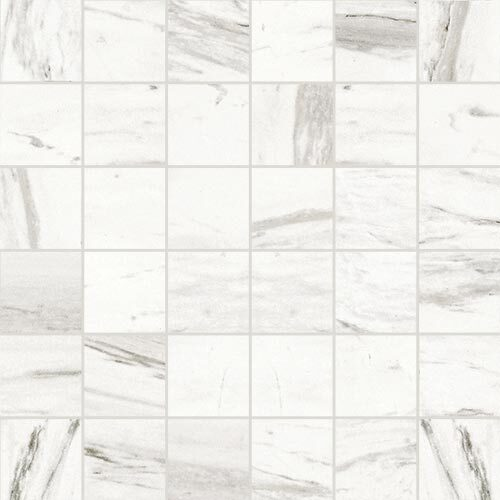 Small Tile Series - Marble Look Statuario White Polished 2