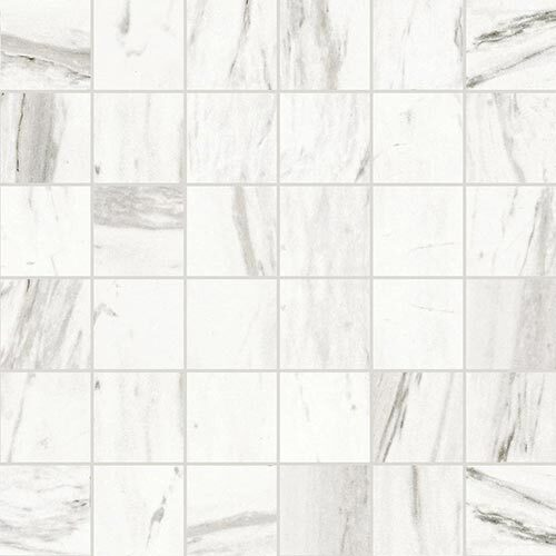 Multicolour Tile Series - Marble Look Statuario White Matte 2