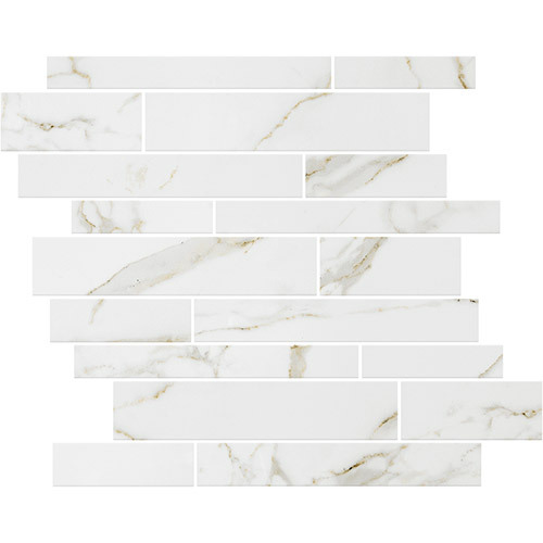 Small Tile Series - Marble Look Calacatta Gold Polished 12