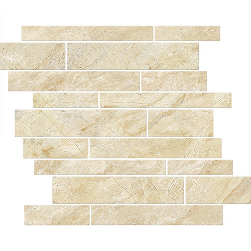 Small Tile Series - Marble Look Roman Cappuccino Polished 12