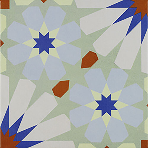 Multicolour Tile Series - 8.75