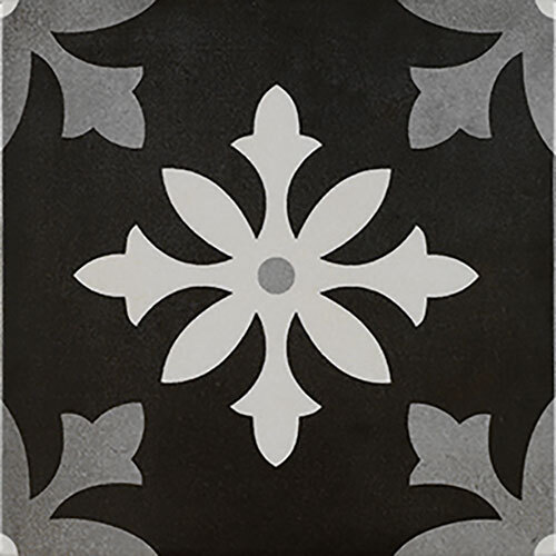 Black Tile Series - 8.75