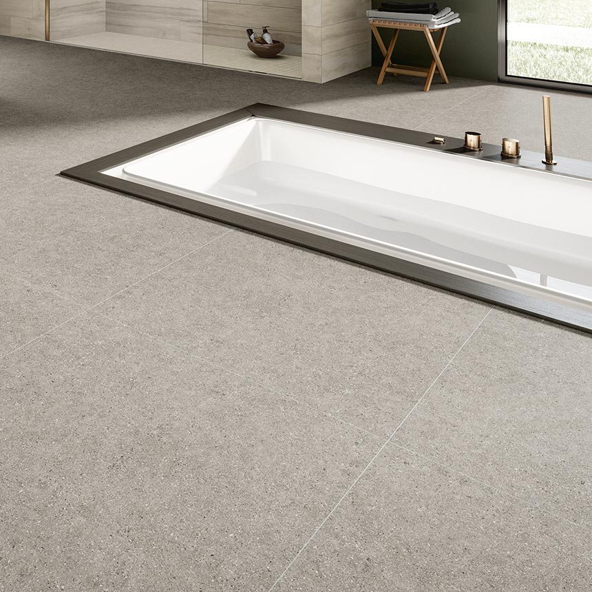 "24""x24"" Elements Smoke Porcelain Tile Porceain Tile"