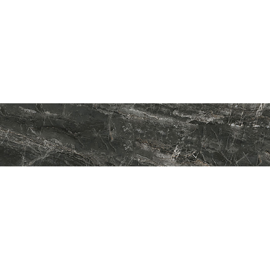 "3""x12"" Cosmic Black Satin Porcelain Tile Porceain Tile"