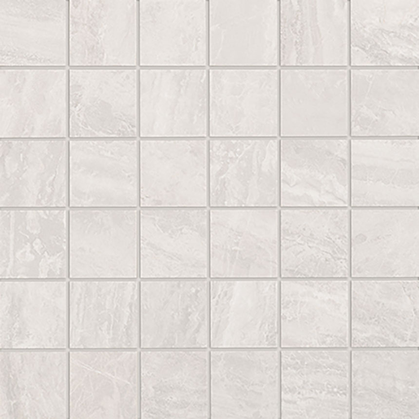 "2""x2"" Mosaic Cosmic Grey Satin Porcelain Tile Porceain Tile"