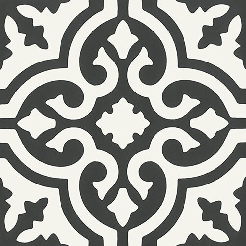 Encaustic & Decor Tile Series - 8