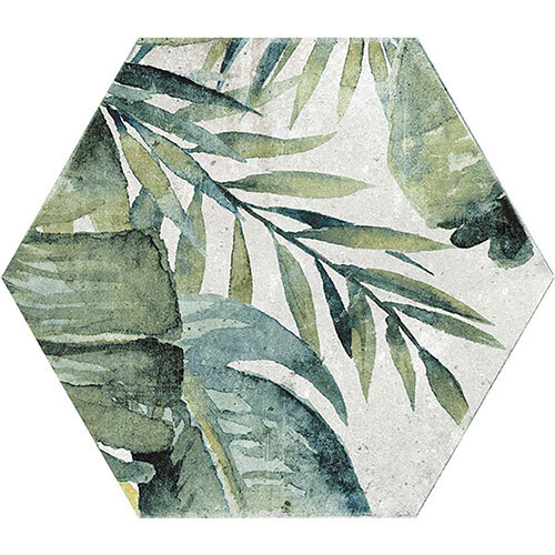 Green & Sage Tile Series - 13